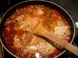 Stir sour cream mixture into gravy skillet and stir until smooth.