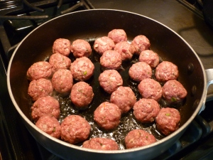 This is all the meatballs.