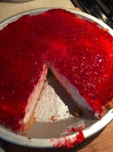 Raspberry Cream Pie -2
