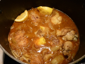Bring it to a boil and reduce heat to low simmer. Cover and cook 20 minutes.