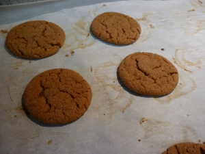 Then it collapses into flat rounds and the sugar forms a nice crackly crust.