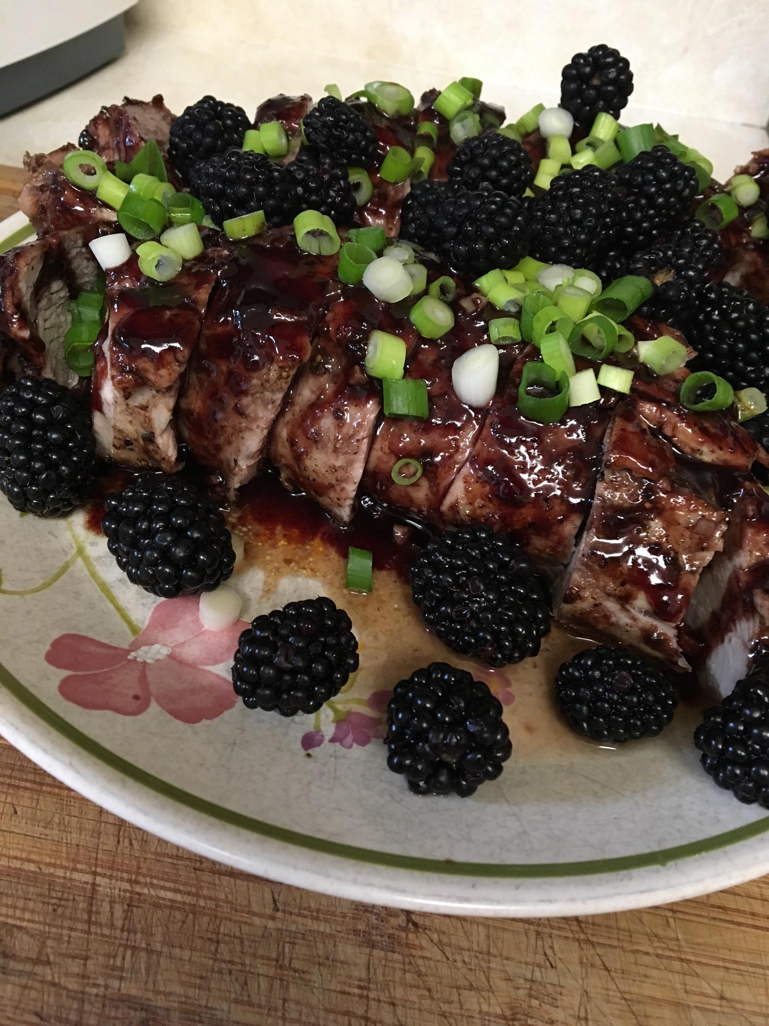 Blackberry Pork Tenderloin2